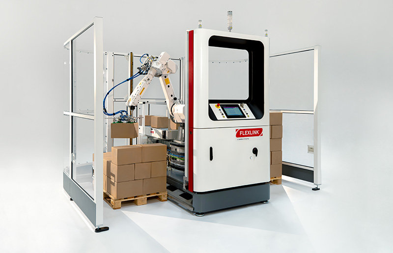 The New RI20 Palletizer Simplifies Complex Processes